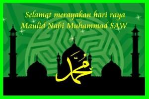 Maulid Nabi Muhammad SAW 3 Januari 2015