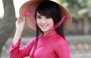 Ilustrasi Wanita Vietnam