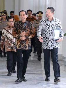 Presiden Joko Widodo Menerima Perwakilan Bank Dunia di Istana Bogor (Foto Biro Pers Istana)