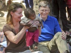 Bill dan Miranda Gates Saat di Afrika