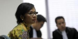 Mantan Dirut Utama Pertamina , Keren Agustiawan (Vecky Ngelo/Jurnal123)