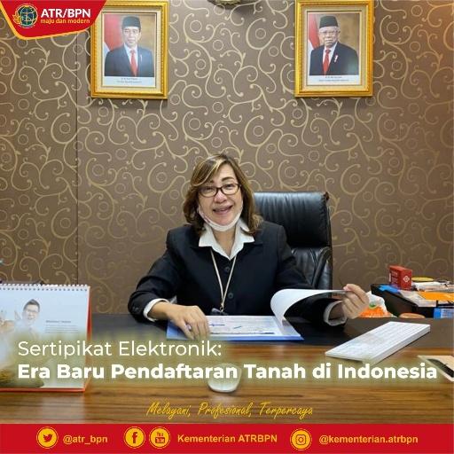Sertifikat Elektronik: Era Baru Pendaftaran Tanah di Indonesia