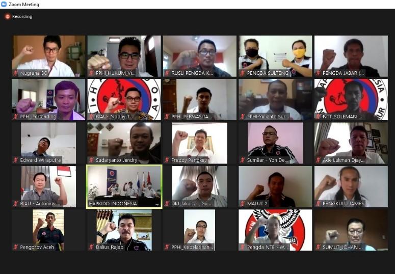 Gelar Rakernas, Hapkido Indonesia Optimis Sambut PON 2021