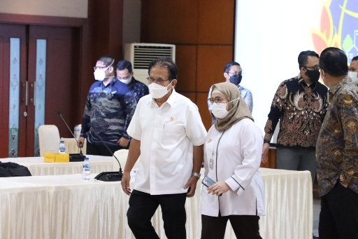 Terima Kunjungan KPK RI, Menteri ATR/Kepala BPN Ungkap Progres Perbaikan di Bidang Pertanahan